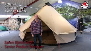 Klondike Grande Tipi Tent - 2018 | Pure Outdoor Passion