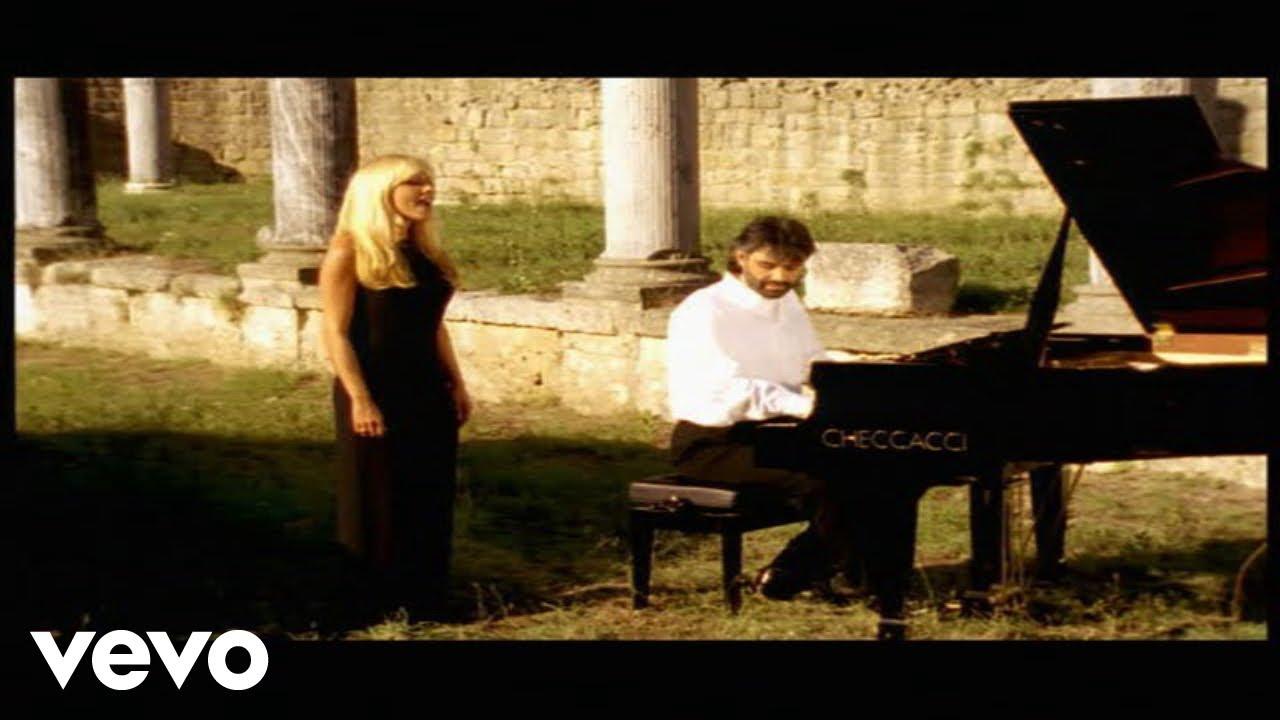 Andrea Bocelli (Ft. Marta Sánchez) - Vivo por ella (Vivo per lei) ITALIANO Y ESPAÑOL Maxresdefault