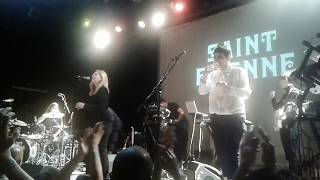 """Saint Etienne """"Nothing Can Stop Us"""" Live @Music Hall of Williamsburg, Brooklyn, NY, Sept 16, 2017"""