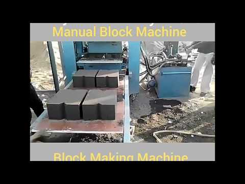 Fly Ash Brick & Block Making Machine
