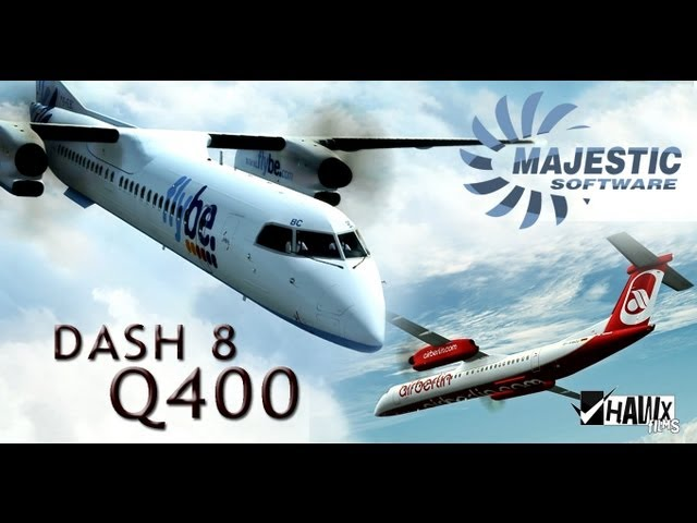 simMarket: MAJESTIC SOFTWARE - DASH 8 Q400 PILOT EDITION 64 BIT P3D