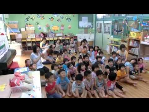 加津佐町 若木保育園のお楽しみ会