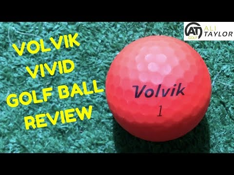 VOLVIK VIVID GOLF BALL REVIEW