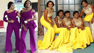 African Bridesmaid Dresses 2019, Volume 5 #Super Cute Styles.