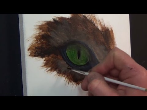 How To Paint Realistic Cats Eyes,#2