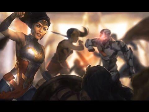 Wonder Woman Destroys Themyscira (Diana is PURE EVIL) - Injustice 2