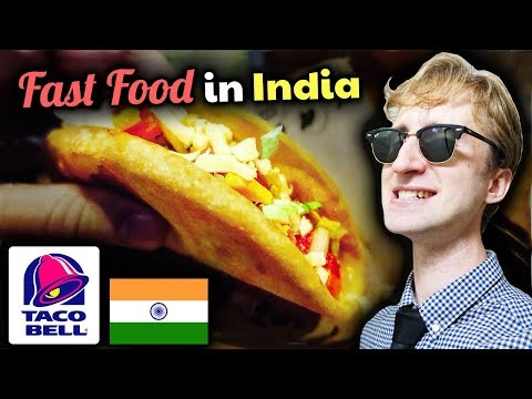 DELICIOUS Review of Taco Bell in India // Indian Fast Food Tour