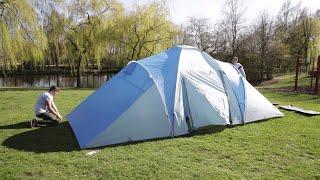 Skandika Daytona XXL Kuppelzelt Familenzelt Aufbauvideo / Tent Setup