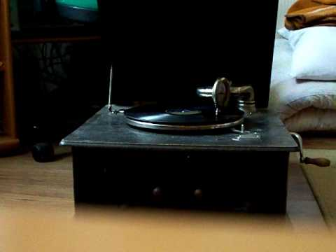 gramophone 78 rpm - Zenon Jaruga - zegar