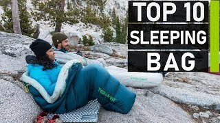 Top 10 Best Sleeping Bags for Camping & Outdoors