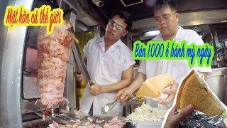 Chủ quán dẹp luôn nhà hàng chỉ để bán bánh mì Kebab vì thu 30 triệu một ngày