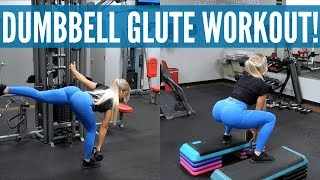 DUMBBELL ONLY GLUTE WORKOUT!