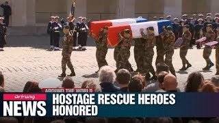 France Honors Soldiers Killed In Burkina Faso Hostage Rescue