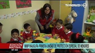 Cajamarca: Mimp Inaugura La Primera Unidad De Protección Especial