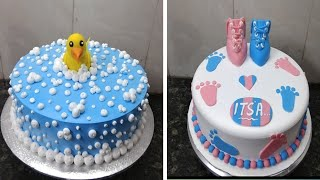 Top Amazing Cake Ideas Baby Shower Simple Birthday Cake Design Making By New Cake Wala