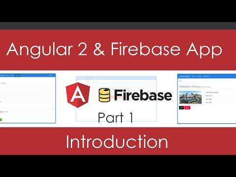 Angular 2 & Firebase App