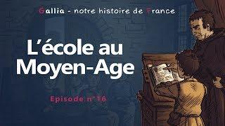 Vidéo - Ecole au Moyen-Âge: nos ancêtres étaient-ils des gueux incultes et illettrés ?