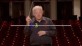 Lesson Three: The Basic 2 and 3 Patterns, Leonard Slatkin's Conducting School