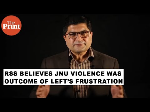 RSS believes JNU violence was outcome of Left's frustration at being marginalised : Arun Anand