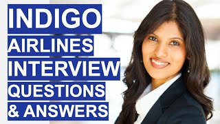 INDIGO Airlines Cabin Crew Interview Questions & Answers! (Cabin Crew Jobs in India)