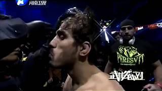 Aqşin Babayev  Azerbaijan  VS Lu Zhenhong  CHİNA  MMA WLF 61 kg 2017