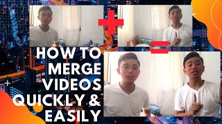 HOW TO MERGE VIDEOS QUICKLY AND EASILY || Cap Cut App || Renz Carlo Cardenas || Vlog 02