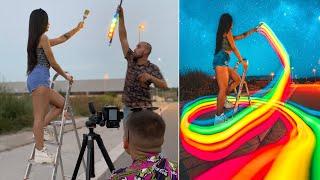 10 LIGHT PAINTING PHOTOGRAPHY IDEAS