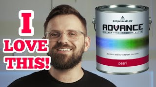 BENJAMIN MOORE ADVANCE REVIEW | Awesome Paint For Cabinets And Trim