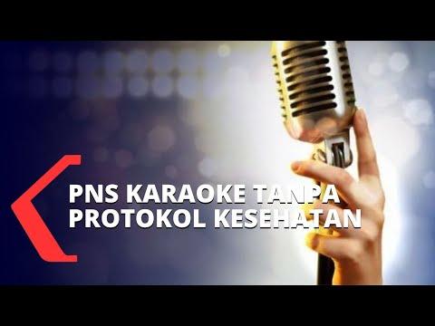 pns kena tegur usai karaokean di kelurahan tanpa protokol kesehatan