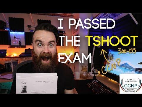 I PASSED THE TSHOOT EXAM!! - CCNP TSHOOT (I also failed ...