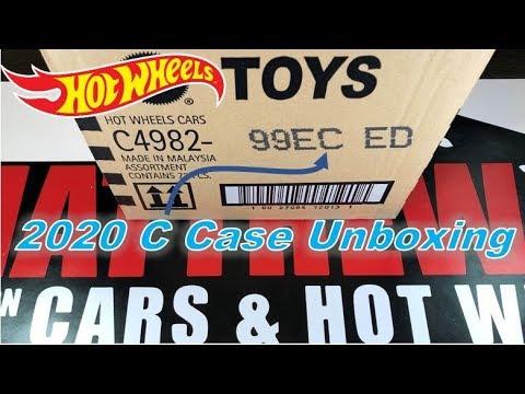 HOT WHEELS 2020 - C CASE UNBOXING