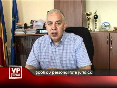 Şcoli cu personalitate juridică