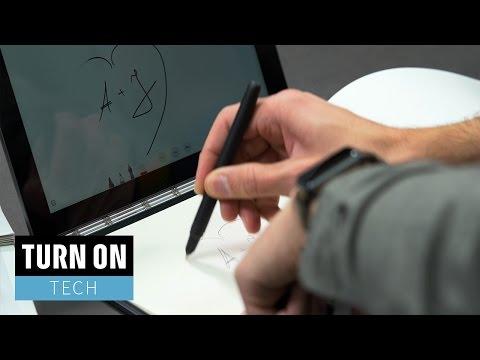 Ein Notebook für Zeichner*innen // Lenovo Yoga Book Unboxing und erster Eindruck - TURN ON Tech