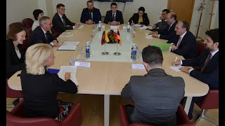 ԱԳ նախարար Զոհրաբ Մնացականյանի հանդիպումը Լիտվայի Էկոնոմիկայի և նորարարության նախարարությունում