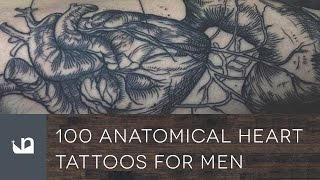 100 Anatomical Heart Tattoos For Men