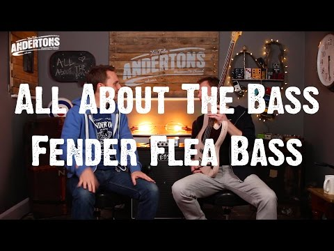 All About The Bass –  Fender Flea Signature Bass – IT'S RED HOT!