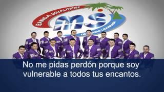 BANDA MS - NO ME PIDAS PERDON (LETRA DE CANCION)
