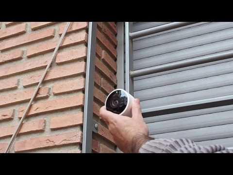 Camara Nest para exteriores WIFI - Se puede ver con el movil desde fuera de casa
