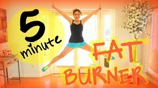 5 Minute FAT BURNER by blogilates