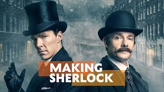Benedict Cumberbatch, Martin Freeman, Andrew Scott & More On Sherlock