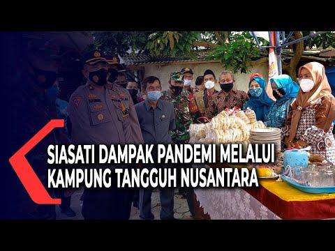 Siasati Dampak Pandemi Melalui Kampung Tangguh Nusantara