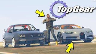 GTA V: TOP GEAR   Bugatti Chiron VS NOVO CARRO do MAURECA . Gameplay M2