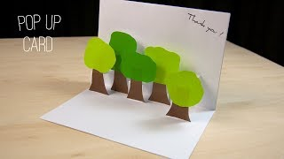 How To Make A Pop Up Card | 3d Card