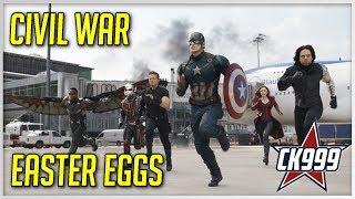 Captain America: Civil War: Hidden Easter Eggs & Secrets