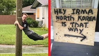 Floridians Who Fought Hurricane Irma With A Sense Of Humor And Won The Internet