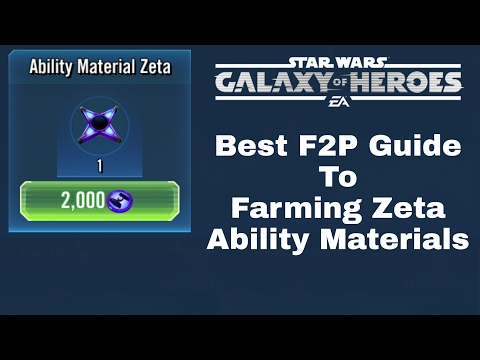 F2P Guide To Farming Zeta — Star Wars Galaxy of Heroes Forums
