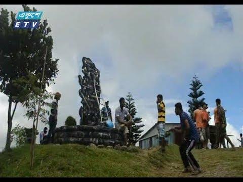 ঈদের ছুটিতে পর্যটকের ভিড় পার্বত্য জেলা বান্দরবনে