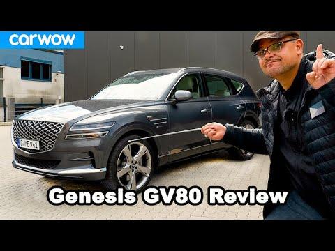 Genesis GV80 (2021) - Kann das Korea-SUV Mercedes, BMW oder Audi die Stirn bieten? Review \/ Urteil