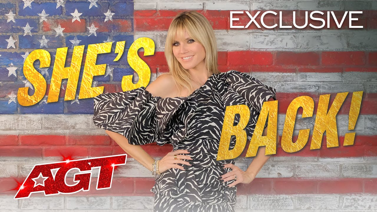 Heidi Klum Returns to AGT with Pure EXCITEMENT! - America's Got Talent 2020 thumbnail