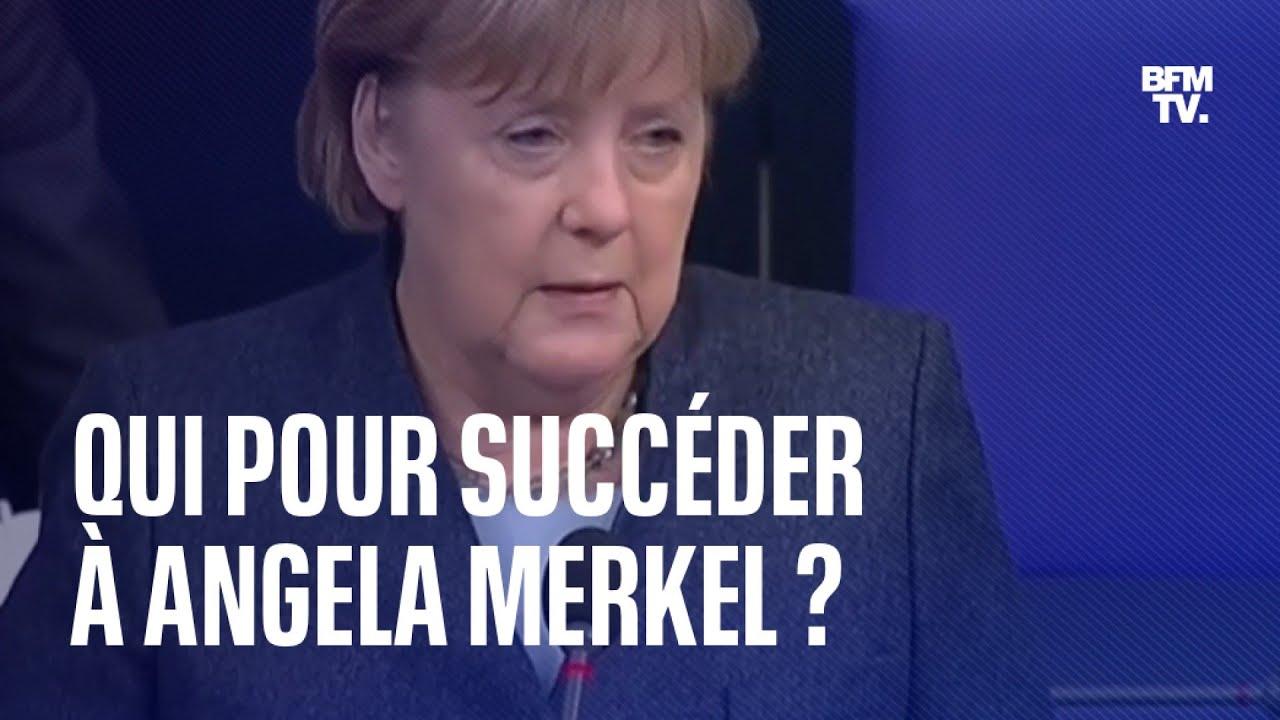 Allemagne: qui pour succéder à Angela Merkel à la chancellerie ?